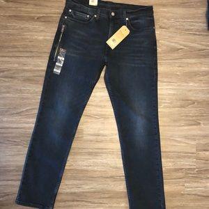 Levi's 511 Men Slim FIT NAVY BLUE Jeans 34x32